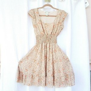 American Rag floral mini dress. Fully lined. M